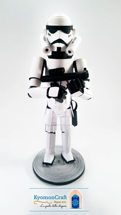Paper Art Quilling Star Wars Empire Stormtrooper by kyomoncraft on DeviantArt