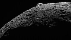 Iapetus is one of the weirdest moons in the solar system, and one of its weirdest features is its prominent, equatorial mountain range. Now, Popular Science reports on a new theory as to the origins of this peculiar ridge: The mountains, researchers posit in a study recently published in arXiv, fell from spaaaaaaaace.