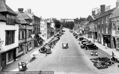 Photo of Farnham, Castle Street 1936 from Francis Frith Farnham Surrey, Local History, Castle, Childhood, Street View, Infancy, Castles, Childhood Memories