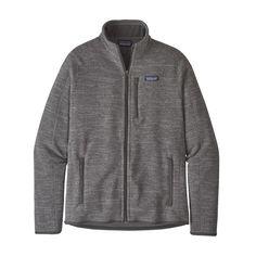 Patagonia Men's Better Sweater® Fleece Jacket Cody.Patagonia Men's Better Fleece Jacket – Pale Khaki PEK Fleece Pullover, Expensive Clothes, Polar Fleece, Cool Sweaters, Easy Wear, Sweater Jacket, Jacket Men, Kind Mode, Men's Clothing