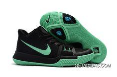 7e8639f91122e9 Nike Kyrie Irving 3 Kids Grass Green Black TopDeals