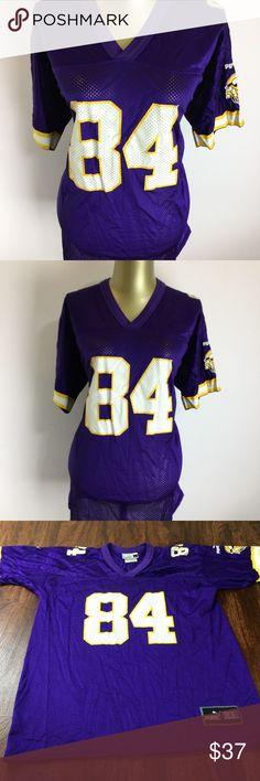 1f7b9da47 PUMA MINNESOTA VIKINGS NFL  84 Randy Moss Jersey This is a nice and  comfortable PUMA