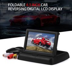 Hot Sale Car Monitors 4.3 Inch TFT LCD Display Rear View Monitor Screen Digital Panel Color Car Rear View Car Video Player