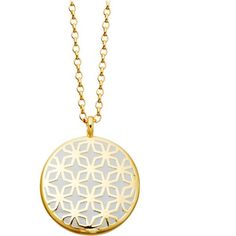 ASTLEY CLARKE Moonlight Star Mosaic 18ct gold vermeil necklace