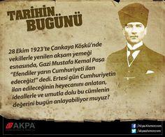 ''Az zamanda çok ve büyük işler yaptık. Bu işlerin en büyüğü, temeli Türk kahramanlığı ve yüksek Türk Kültürü olan Türkiye Cumhuriyetidir...'' Mustafa Kemal ATATÜRK