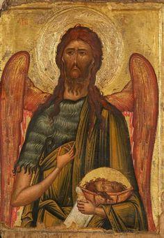 Byzantine Art, Orthodox Icons, Mona Lisa, Saints, Artwork, Painting, Saint John, Mary, Facebook