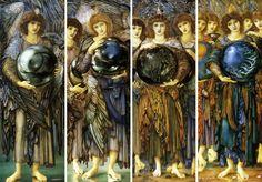Edward Burne Jones - Quatre jours de la Création