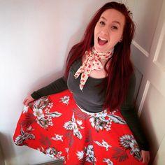 The Doll loves tiki skirts!