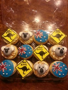 Australian Cupcakes by KissiCakes