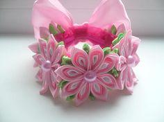 Elastic beam Hair Bun Wrap Wrap Flower Bun elastic band