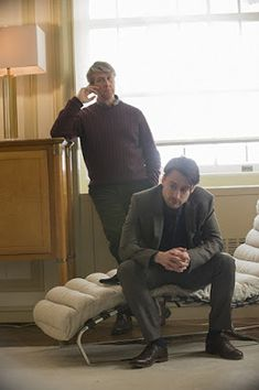 Kieran Culkin and Alan Ruck in Succession (series) Jonathan Glazer, Alan Ruck, Kieran Culkin, Sarah Snook, James Cromwell, Maggie Cheung, Cut Cable, Brian Cox, Literatura