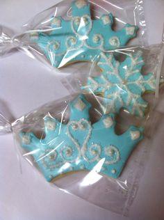 Frozen Princess Inspired Tiara and Snowflake by sugarlandsweets, $40.00