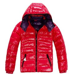 Cheap Moncler Jacket Moncler Bady Men Down Jackets Red