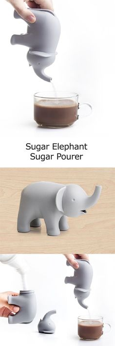 Sugar Elephant Sugar Pourer