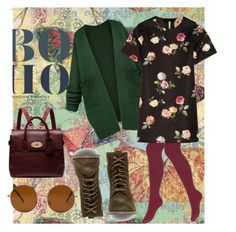 """boho.. <3"" by mairak17-7 ❤ liked on Polyvore featuring Steve Madden, Forever 21, Mulberry and N°21"