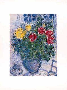 Marc Chagall - Blumenstilleben