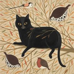 Carious Cat, a greeting card by Catriona Hall