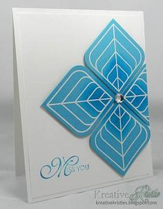 Super trendy and fun card by Kristie!