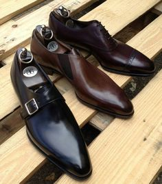 Gaziano & Girling - Bespoke & Benchmade Footwear — The new Deco round toe. Be the first to experience. Suit Shoes, Mens Shoes Boots, Leather Shoes, Shoe Boots, Dress Shoes, Der Gentleman, Gentleman Shoes, Fashion Shoes, Mens Fashion