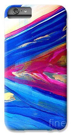Color Explosion 11 iPhone 6 Plus Case by Gale Patterson.
