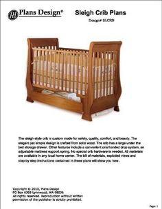 Clasic Sleigh Baby Crib with Drawer Woodworking Plans by Plans Design, http://www.amazon.com/dp/B00BAGU0T4/ref=cm_sw_r_pi_dp_zbdgsb0BYTEM5