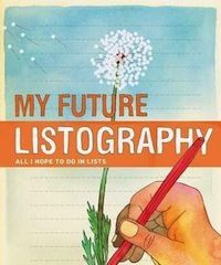 My Future Listography: All I Hope to Do in Lists-thought provoking topics with lines to add a list. I Love Books, Books To Read, My Books, Journal Challenge, Journal Ideas, Future Goals, Graphic Design Typography, I Hope, Thought Provoking