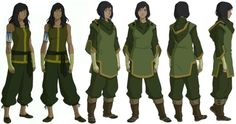 Korra concepts and designs by Lauren Montgomery, Christie Tseng, Angela Song Mueller, and Bryan Konietzko. Color by Sylvia Filcak-Blackwolf and Bryan Konietzko.