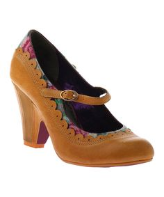 Yellow Betty Jane Pump by Poetic Licence