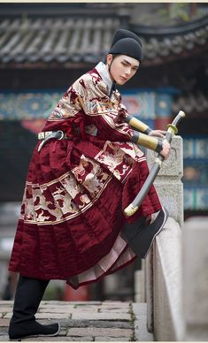Medieval Clothing, Historical Clothing, Asian Fashion, Unique Fashion, Fashion Design, Traditional Fashion, Traditional Outfits, Asian Cosplay, Chinese Clothing