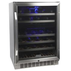 "Thumbnail Image of EdgeStar 46 Bottle 24"" Built-In Dual Zone Wine Cooler"