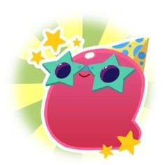 For the Gordo species as a whole, see: Gordo Slimes The Party Gordo is a unique Pink Gordo Slime which appears during the Party Weekend event. Easter Drawings, Cute Drawings, Slime Rancher Game, Pink Slime, Slime Toy, Slime For Kids, Pokemon Plush, Picts, Ribbon Crafts