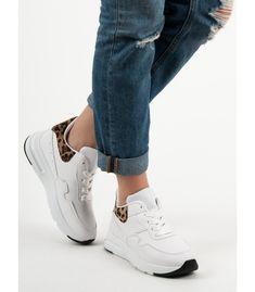 Biele sneakersy Air Max Sneakers, Sneakers Nike, Nike Air Max, Converse, Shoes, Fashion, Nike Tennis, Moda, Zapatos