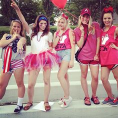 keep the tutus short and over jean shorts