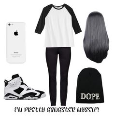 """""""Untitled #117"""" by neca-xoxo ❤ liked on Polyvore featuring DNY and plus size clothing"""