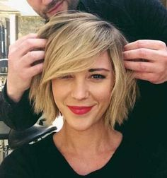 Must-See Bob Hairstyles with Side Bangs | Bob Hairstyles 2015 - Short Hairstyles for Women