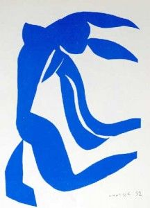 Blue Nude with Hair in the Wind, Henri Matisse. Blue Nude with Hair in the Wind 108 x 80 cm. Art Painting, Abstract Artists, Matisse Paintings, Artist, Picasso Paintings, Abstract Art, Matisse Cutouts, Hair In The Wind, Abstract