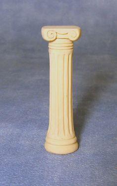 Dolls House Miniature Column - Over 10,000 other miniature dollshouse items in stock! Visit www.thedollshousestore.co.uk