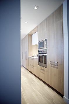 Cuisine moderne en bois clair | Contemporary Light Wood kitchen