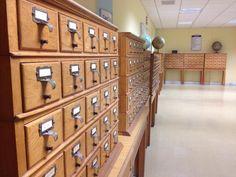 Catalogue hall, University of Malta Library