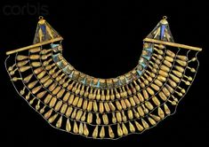 was found around the neck of the mummy in the Amarna period tomb KV 55.