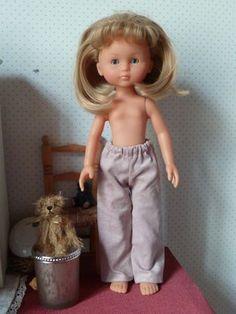 """Tuto d'un pantalon pour poupée corolle """"les chéries"""""""