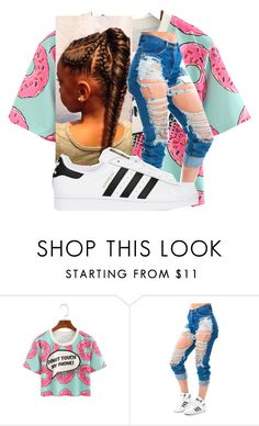 """""""Untitled #371"""" by tatavines ❤ liked on Polyvore featuring adidas Originals"""