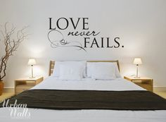 (http://www.uwdecals.com/products/love-never-fails-wall-decal)