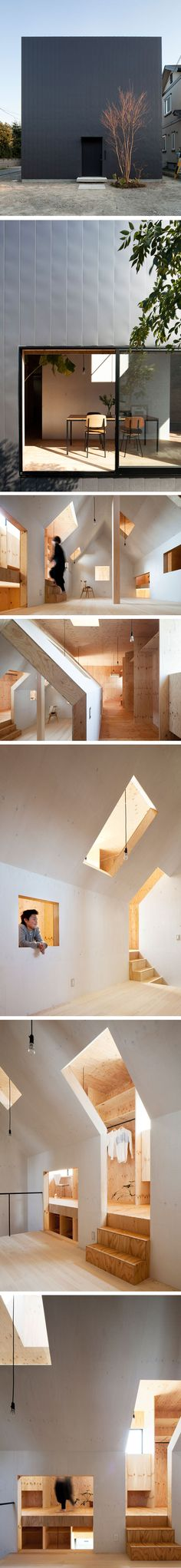 Ant house by MA STYLE Architects in Japan