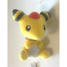 Pokemon 2013 Banpresto UFO Game Catcher Prize Ampharos Plush Toy