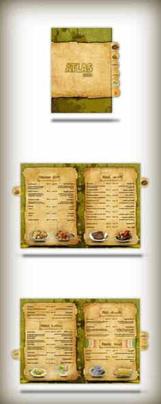 food and restaurant template designs - Google Search