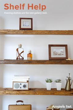 Shelving is tricky business. Learn the latest looks, trends and tips about color balance, shelf stacking and how to find the right shelving style for you.
