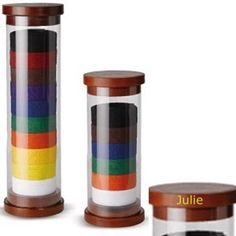 Personalized Cylinder Karate Belt Display
