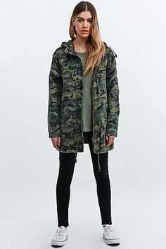 BDG - Veste militaire camouflage Manteau Kaki, Looks Femme, Fringues, Veste  Militaire, ee0e35307f4e