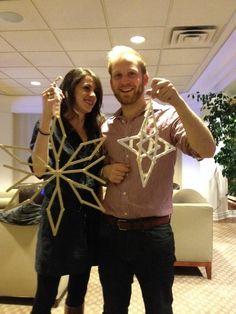 Popsicle Stick Snowflakes Miss Print: Blogathon Canada + a Giveaway!